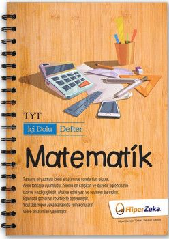 Hiper Zeka Yayınları TYT Matematik İçi Dolu Defter