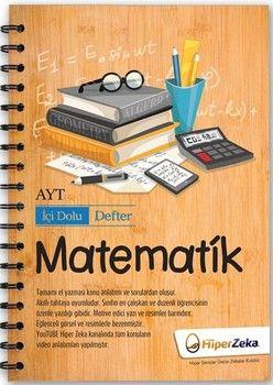 Hiper Zeka Yayınları AYT Matematik İçi Dolu Defter