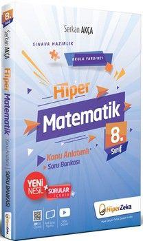 Hiper Zeka Yayınları 8. Sınıf Hiper Matematik Konu Anlatımlı Soru Bankası