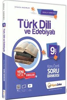 Hiper Zeka Yayınları 9. Sınıf Türk Dili ve Edebiyatı Konu Özetli Soru Bankası