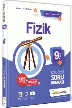 Hiper Zeka Yayınları 9. Sınıf Fizik Konu Özetli Soru Bankası