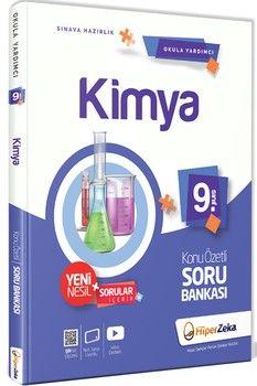 Hiper Zeka Yayınları 9. Sınıf Kimya Konu Özetli Soru Bankası