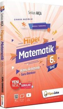 Hiper Zeka Yayınları 6. Sınıf Hiper Matematik Konu Anlatımlı Soru Bankası