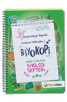 Hiper Zeka Yayınları Üniversiteye Hazırlık Konu Kavratan TYT-AYT Biyoloji Defteri Biyokopi