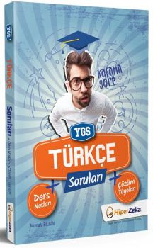 Hiper Zeka Yayınları YGS Türkçe Soru Bankası