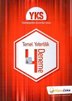 Hiper Zeka Yayınları YKS 1. Oturum TYT 4 Deneme