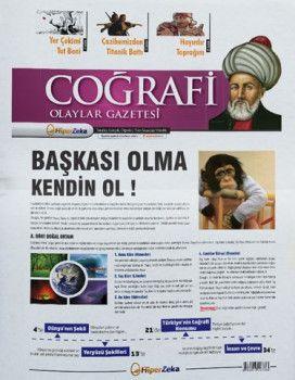 Hiper Zeka Yayınları Tüm Sınavlar İçin Coğrafi Olaylar Coğrafya Gazetesi