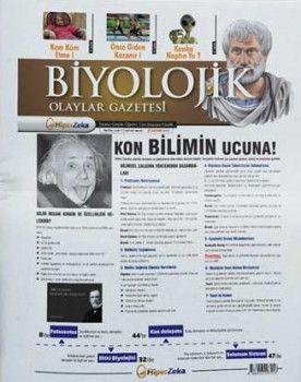 Hiper Zeka Yayınları Tüm Sınavlar İçin Biyolojik Olaylar Biyoloji Gazetesi