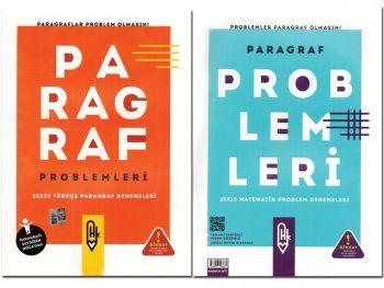 HK Yayınları Matematik Paragraf Problemleri 25X15 Türkçe Paragraf Denemeleri 25X23Tek Kitap