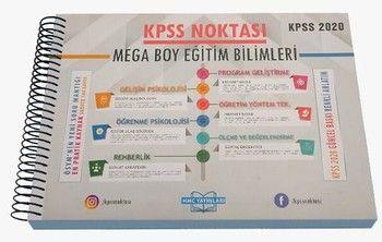 HMC Yayınları 2020 KPSS Noktası Eğitim Bilimleri Mega Boy Poster Ders Notları