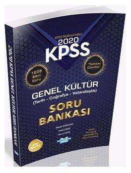 HMC Yayınları 2020 KPSS Noktası Genel Kültür Soru Bankası Çözümlü