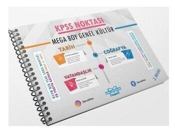 HMC Yayınları 2021 KPSS Noktası Genel Kültür Mega Boy Poster Ders Notları