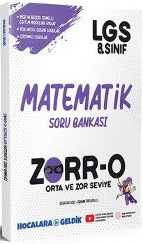 Hocalara Geldik 8. Sınıf LGS Matematik ZORRO Soru Bankası