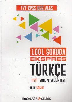 Hocalara Geldik TYT KPSS DGS ALES 1001 Soruda Ekspres Türkçe