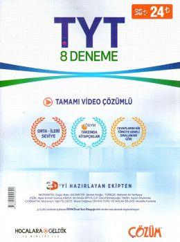 Hocalara Geldik YKS 1. Oturum TYT Tamamı Video Çözümlü 8 Deneme