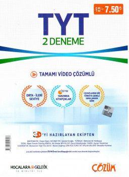 Hocalara Geldik YKS 1. Oturum TYT Tamamı Video Çözümlü 2 Deneme