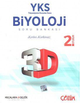 Hocalara Geldik YKS 2. Oturum Biyoloji 3D Soru Bankası