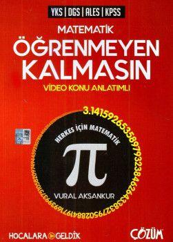 Hocalara Geldik YKS DGS ALES KPSS Matematik Öğrenmeyen Kalmasın Video Konu Anlatımlı