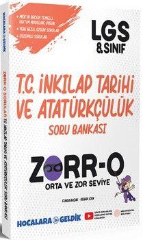 Hocalara Geldik8. Sınıf LGS İnkılap Tarihi ve Atatürkçülük ZORRO Soru Bankası