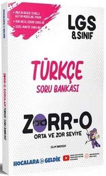 Hocalara Geldik8. Sınıf LGS Türkçe ZORRO Soru Bankası