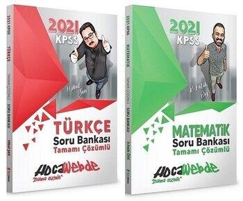 Hocawebde 2021 KPSS Türkçe Matematik Soru Bankası 2 li Set