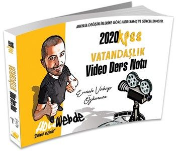 Hocawebde Yayınları 2020 KPSS Vatandaşlık Video Ders Notu