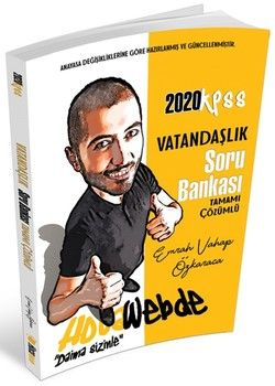 Hocawebde Yayınları 2020 KPSS Vatandaşlık Soru Bankası