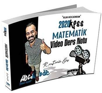 HocaWebde Yayınları 2020 KPSS Matematik Video Ders Notu
