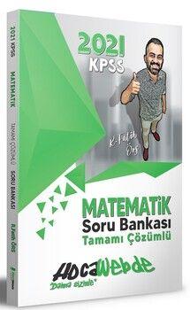 HocaWebde Yayınları 2021 KPSS Matematik Soru Bankası