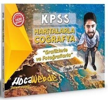 HocaWebde Yayınları 2022 KPSS Haritalarla Coğrafya