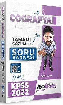 Hocawebde Yayınları2022 KPSS Coğrafya Tamamı Çözümlü Soru Bankası
