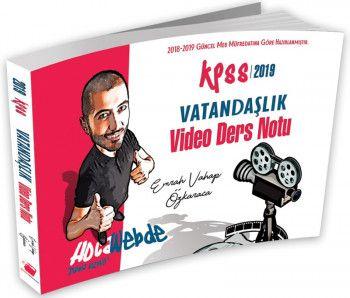 Hocawebte Yayınları 2019 KPSS Vatandaşlık Video Ders Notu