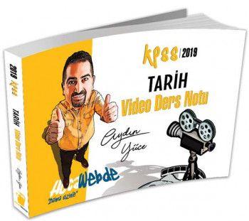 Hocawebte Yayınları 2019 KPSS Tarih Video Ders Notu