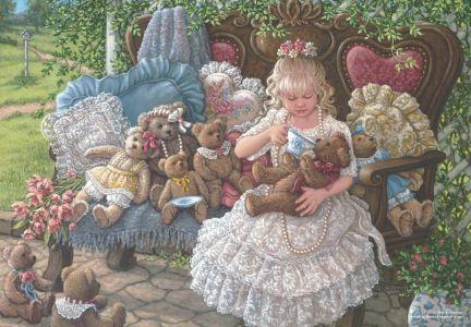 Holly\'nin Ayıcıkları  Holly\'s Bears 260 parça Puzzle - Yapboz