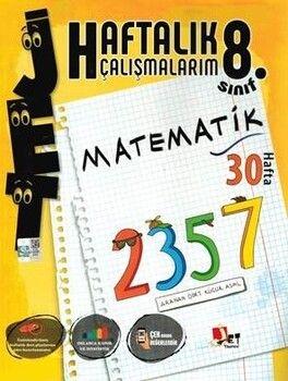 Jet Yayınları 8. Sınıf Matematik Haftalık Çalışmalarım