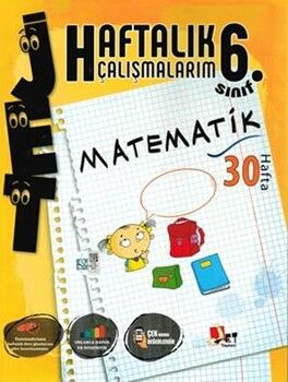 Jet Yayınları6. Sınıf Matematik Haftalık Çalışmalarım