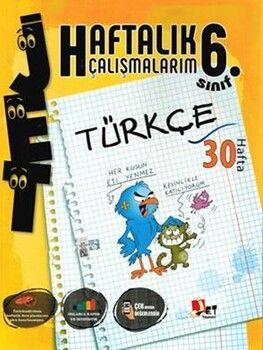 Jet Yayınları6. Sınıf Türkçe Haftalık Çalışmalarım