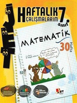 Jet Yayınları7. Sınıf Matematik Haftalık Çalışmalarım