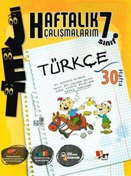 Jet Yayınları7. Sınıf Türkçe Haftalık Çalışmalarım
