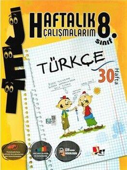 Jet Yayınları8. Sınıf Türkçe Haftalık Çalışmalarım