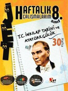Jet Yayınları8. Sınıf İnkılap Tarihi ve Atatürkçülük Haftalık Çalışmalarım