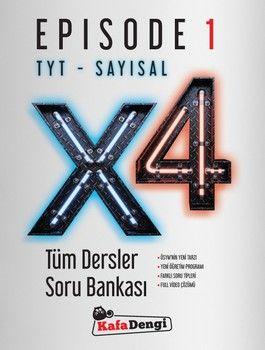 Kafa Dengi TYT Sayısal X4 Tüm Dersler Soru Bankası Episode 1