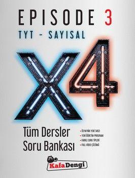 Kafa Dengi TYT Sayısal X4 Tüm Dersler Soru Bankası Episode 3