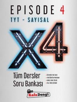 Kafa Dengi TYT Sayısal X4 Tüm Dersler Soru Bankası Episode 4