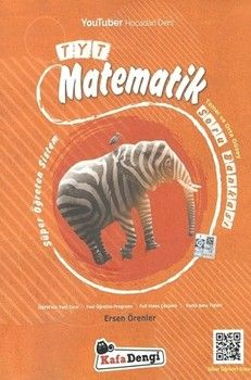 Kafa Dengi Yayınları TYT Matematik Temel ve Orta Düzey Soru Bankası