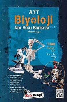 Kafa Dengi Yayınları AYT Biyoloji Orta ve İleri Düzey Nar Soru Bankası