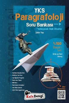 Kafa Dengi Yayınları YKS Paragrafoloji Orta ve İleri Düzey Soru Bankası