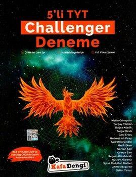 Kafa Dengi Yayınları TYT Challenger 5 li Deneme