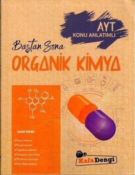 Kafa Dengi Yayınları AYT Organik Kimya Baştan Sona Konu Anlatımlı