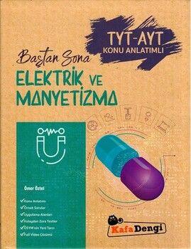 Kafa Dengi Yayınları TYT AYT Elektrik ve Manyetizma Baştan Sona Konu Anlatımlı